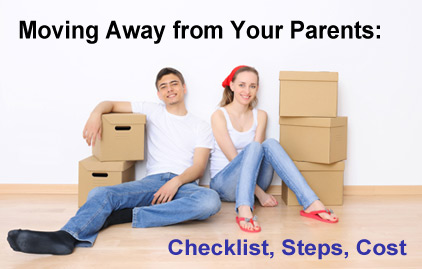 Move out of parents' home
