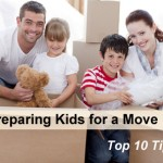 Prepare children for moving