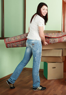Steps for moving out of parents' house