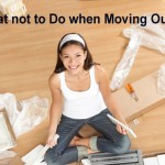 What to avoid when moving out