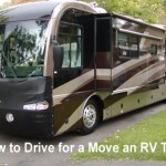 Driving an RV tips