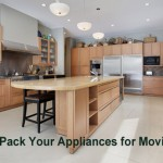 How to pack appliances for a move