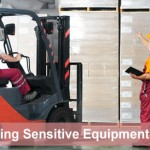 Moving sensitive electronic equipment