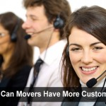 Removals customer service