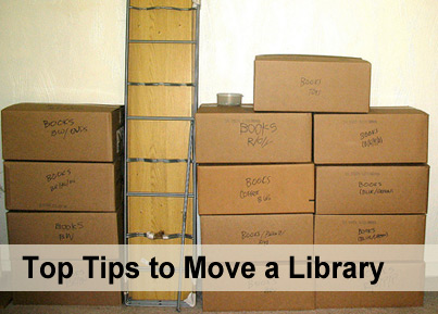 Library relocation tips
