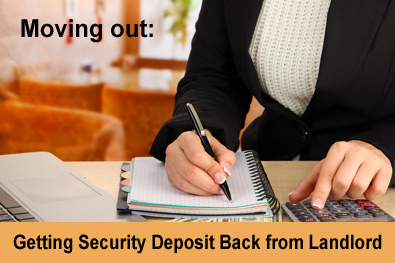 Get security deposit back