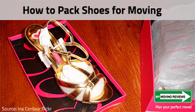 how to pack your shoes for moving tips. Black Bedroom Furniture Sets. Home Design Ideas