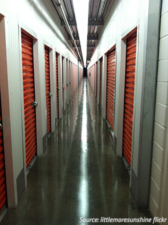 choose the right size self storage unit