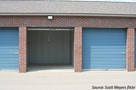 How do I choose a storage unit?