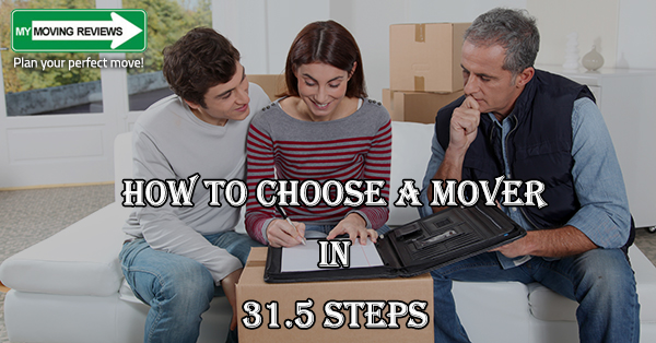 how to choose a moving company in 31 5 steps it works. Black Bedroom Furniture Sets. Home Design Ideas