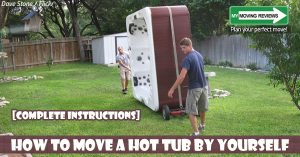 How to move a hot tub yourself