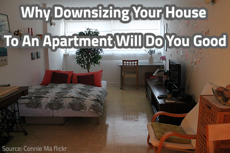 Downsizing From House To Apartment