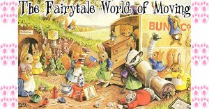 Magical fairytale world of moving house