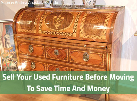 Nice Sell Used Furniture Before Moving