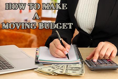 How To Make A Moving Budget: Moving Budget Checklist