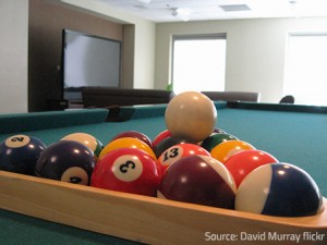 Moving a pool table even a few inches could prove to be a real challenge due