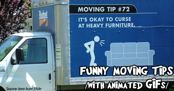 Animated Gifs 20 Funny Moving Tips To Simplify Your Move