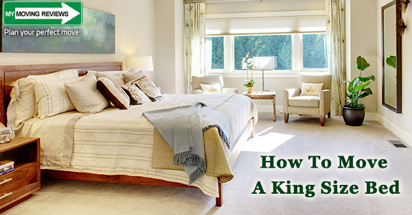 How to Move a King Size Bed and Mattress