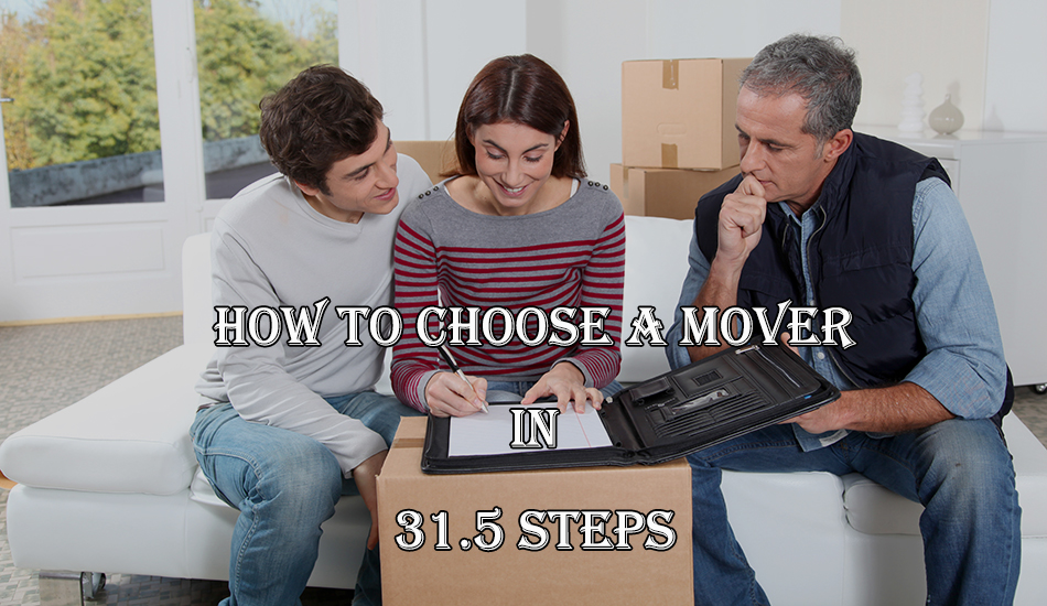how to find a good moving company