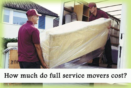 How Much Do Full Service Moving Companies Cost?