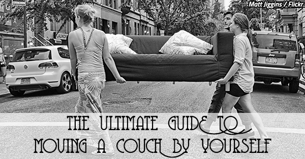 Move By Yourself: The Ultimate Guide To Moving A Couch By Yourself