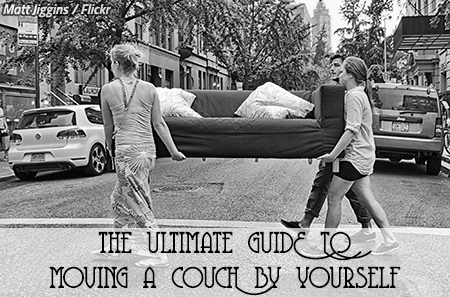 The Ultimate Guide To Moving A Couch By Yourself