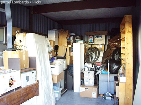 Packing for storage may be a work of art.