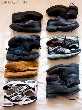 how to pack shoes for moving. Black Bedroom Furniture Sets. Home Design Ideas