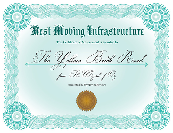 Best moving infrastructure