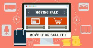 Should you move your stuff or sell it when moving house?