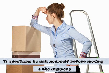 Questions to ask yourself about moving