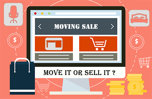 Should you sell everything or move it to your new home?