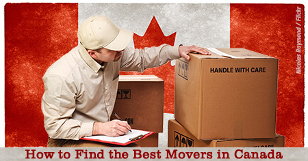 How to find the best Canadian movers