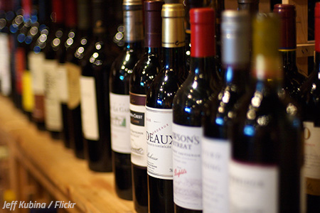 Moving a wine collection