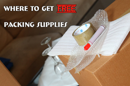 Where to Get Free Packing Supplies: Complete and Unabridged