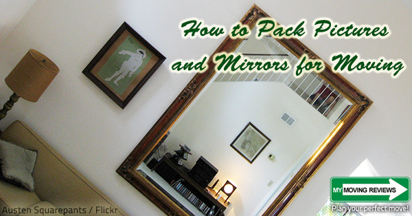 How To Pack Pictures And Mirrors For Moving