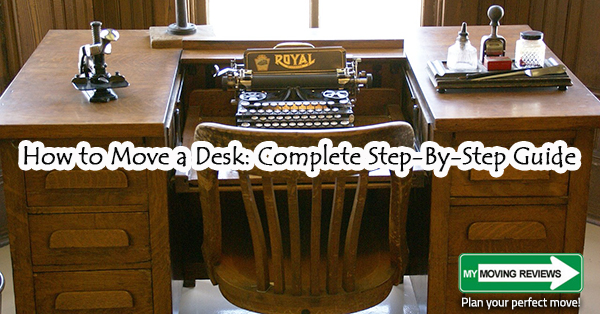 How To Move A Desk Complete Step By Step Guide