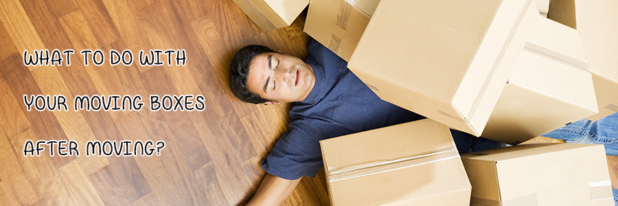 What to Do with Boxes After Moving [20 Great Options]