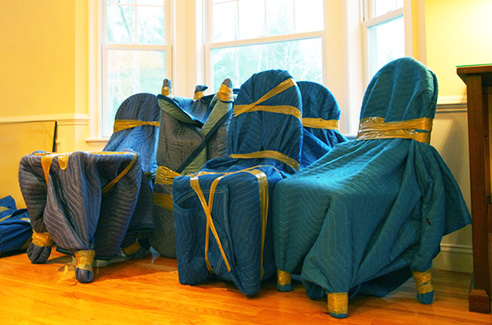 When you know how to wrap dining chairs for moving, the furniture will survive the relocation safe and intact.