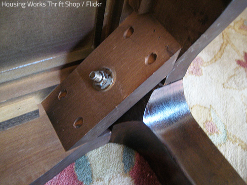 Make sure you know how to take apart a dining room table safely.