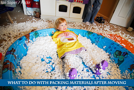 What to Do with Packing Materials After a Move
